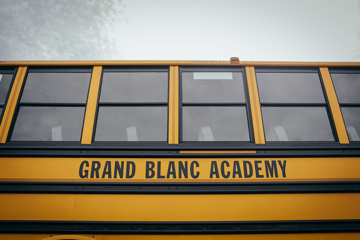 Grand Blanc Academy School Bus
